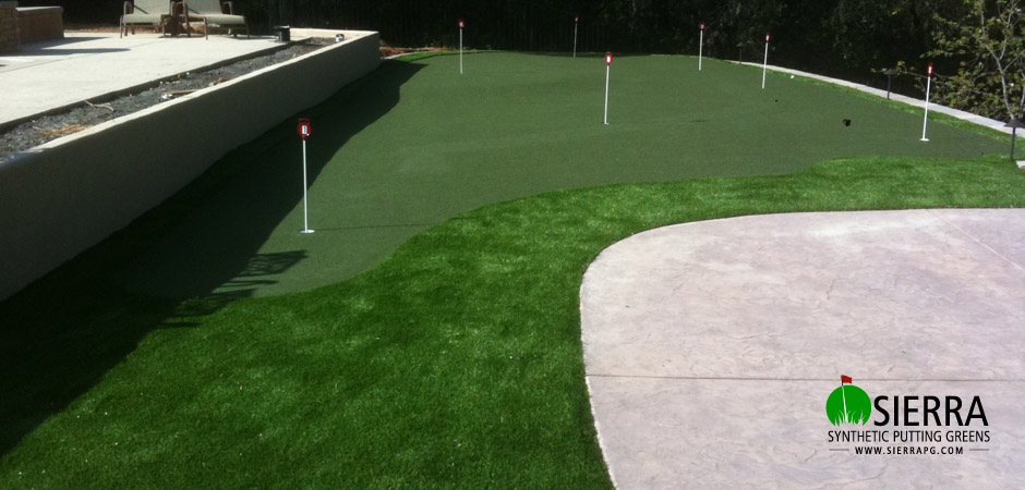 Roseville-1,200-square-foot-putting-green