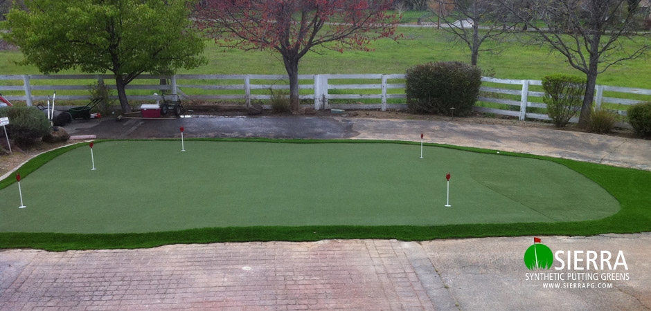 Redding-1,150-square-foot-putting-green