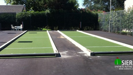 Carmichael Bocce Ball Court