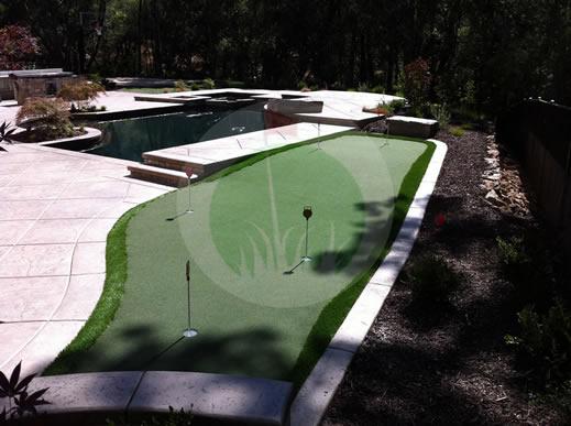 El Dorado Hills 300 sq ft green